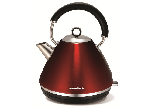Konvice Morphy Richards Accents retro Red
