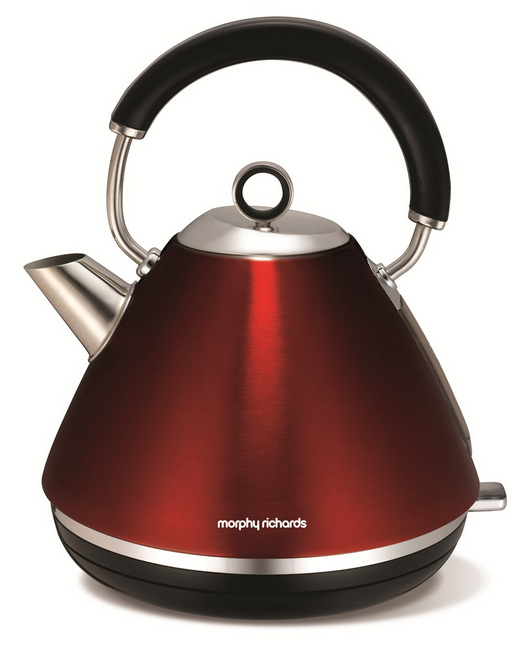 Rychlovarná konvice Morphy Richards 102004 Accents retro Red